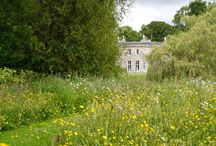 Gardens at Boath House / Gardens at Boath House throughout the year. Walled garden, wildflower meadow with lake  and growing garden