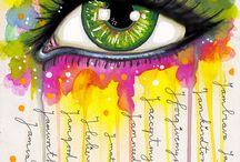 Art- Journal and mixed media / by Susanne Mackenzie