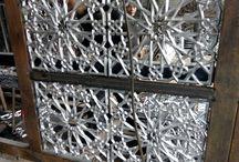 Ornamen karawangan cor Alluminium