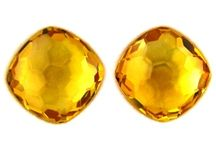 Yellow gemstones & Inspiration / Gemstone, Fashion and Art inspiration in the classic colour Yellow