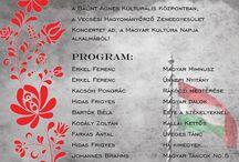 Bálint Ágnes  kulturális  központ eseményei