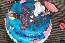 selbst gemachte Torten / Kuchen