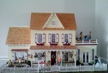 More resin dollhouse dolls from the Houseworks collection.