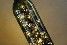 Wine bottle crafts / by Carolyn Whitehead
