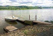 Waterfront Views / Showcasing real estate with lake access.