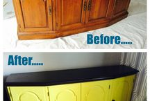 Cheri's Home Decor DIY projects / Projects that I have made over. I love finding deals on Craigslist!