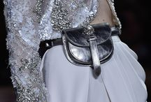 Silver Linings |  Haute Couture Spring Summer 2016 details / From jewelry to handbags and headpieces, exquisite ornaments of metallics form a dazzling symmetry that extends to bridge the gap between opulence and ease. / by ELIE SAAB