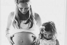 Fotos embarazada e hija