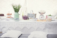 Parties & Showers / Party Inspirations ll Photos, things to make, tablescapes and themes...