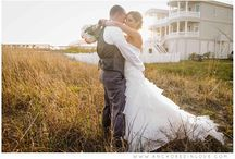 Beach Weddings / Weddings held at the beaches around Wilmington, North Carolina