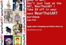WTA coupons /flyers / Find coupons, discount codes, offers, sales for WearThatART products :^D