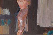 My exhibition 2015 / Acrylic paintings by Lena Hautoniemi