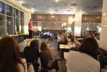 Evenimente în Hugo - restaurant & treats / Cele mai frumoase evenimente (concerte, comedy show, teatru, etc.) se organizeaza la noi. Urmarește-le!