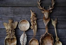 Woodcarving - Spoons