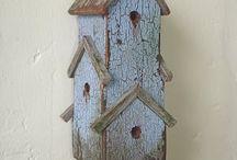 domki dla ptaków / śmieszne i ładne domki dla ptaków