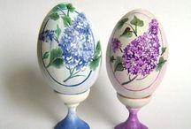 Пасхальные яйца роспись