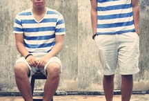 Striped / striped outfits
