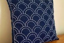 sashiko pillow