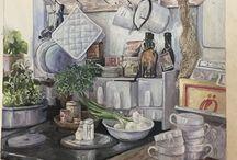 Maria Pavlova painting