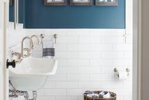 Badeværelse med farve