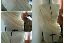 My creations with draping