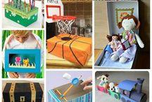 Recyklingowe zabawki i inne