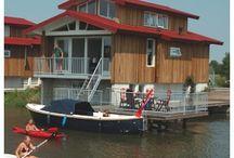 Awesome holiday homes / Watervilla's te koop of te huur. Kijk ook op www.vakantiegevoel.nl