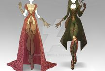 fantasy outfits