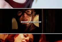 the flash/arrow/supergirl