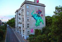 Murals, Street Art