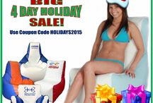 Big Holiday SALE 2015 / Save up to 25% OFF now through Monday! Use coupon code HOLIDAYS2015. All Ocean-Tamer Marine Bean Bags on sale!