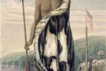 19th & 20th century paintings of Māori
