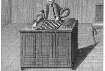 chess figures / chess figures, players, vintage chess / by bela salamon