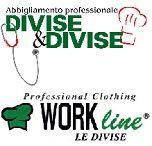 Divise&Divise + Work Line (abbigliamento professionale) / Due importanti marchi di abbigliamento professionale, presenti congiuntamente ad Aestetica 2013