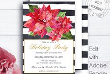 Amistyle Holiday Invitations