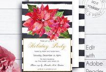 Amistyle Holiday Invitations