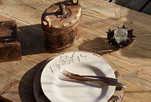 Art de la table / Thème cerf  all for the table - tout pour la table Découvrez tous nos produits sur www.sculpteursdulac.com #table #