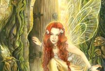 Fairy Art / Enchanting art collection of a mythical fairies.