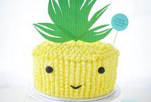ιδέες για παιδικό πάρτι - tropical/ ανανάς / Βάπτιση ή παιδικό πάρτι με θέμα τον ανανά!