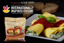 Our World Menu / Explore our exclusive line of internationally-inspired cuisine from around the world. Quality ingredients and easy preparation come together to bring a whole new world of flavor right to your table in minutes. / by Stop & Shop