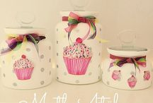 Muffins jars