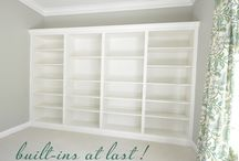 Built in Bookcases / by Paula Bynum