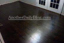 Revamping the raggedy floors