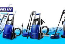 Hidrolimpiadoras Michelin / Michelin dispone de una gran oferta de hidrolimpiadoras eléctricas.