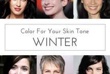 Winter Cool Palette / Colour matching