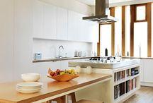 Saltbox addition - kitchen renovation