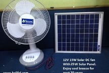 Solar dc fan 12V volt 25W solar panel dc fan
