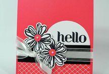 Handmade Cards- SU- Flower Shop / SU Flower Shop