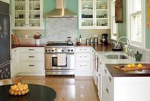 Kitchen & Dining / Ideas for kitchen and dining spaces