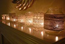 Gyertyák...lámpák...